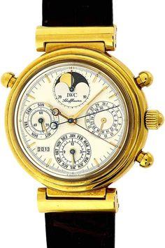 IWC SCHAFFHAUSEN «Da Vinci Rattrapante» Ref.3751-005, No.568, 2 Chronographen «Rattrapante», ewi