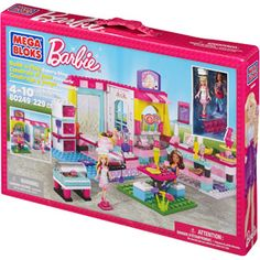Mega Bloks Barbie Build 'n Play Bakery Shop Play Set
