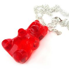 Gummy Bear Necklace Cherry, $29.50, now featured on Fab.