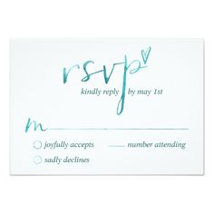 Typography Wedding Invitation Watercolor Love is Love Gay RSVP Cards
