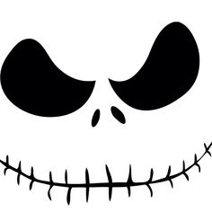 Jack Skellington.... this could be pumpkin pattern
