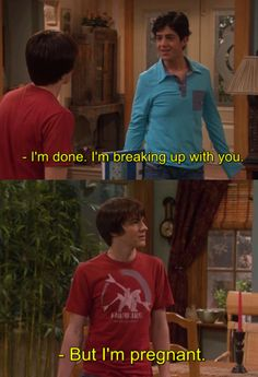 "Don't break up with someone if they're pregnant:  | The 28 Most Important Lessons We Learned From ""Drake And Josh"""