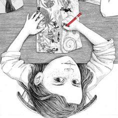 My Childhood – Les jolies illustrations poétiques de Sveta Dorosheva