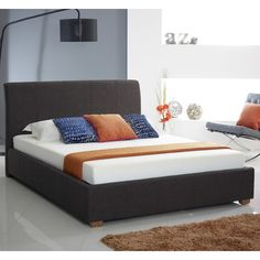 Found it at Wayfair.co.uk - Fabric Upholstered Ottoman Bed