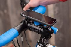 The Quad Lock® Bike Mount for iPhone 6/6S is the lightest, strongest and most secure iPhone 6/6S Bike Mount available thanks to the Patent Pending Quad Lock dual locking system. The iPhone 6/6S bike kit is supplied with everything you need!<br /> Now your iPhone 6/6S can be fully utilised to track your fitness via apps like Strava™ or navigate your city with ease using Apple® or Google® Maps. You will never miss another message or tweet again and stopping to screen your calls will be a…