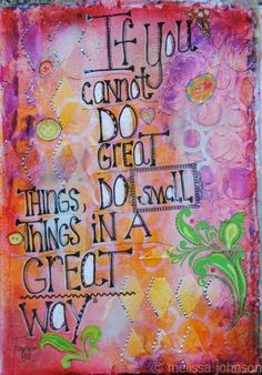 Art journal. Mel's Art Journal - DSC_0718