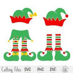 Elf Svg Girl Elf Svg Boy Elf Svg Elf Hat Svg Christmas Etsy Svg Kids Elf Crafts Girl Elf