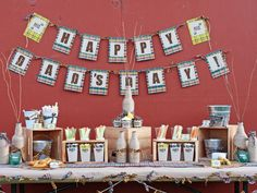 Dads Day Party Table - Throw a Beer Tasting Party for Dad on HGTV