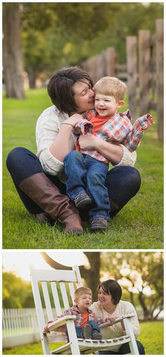 family portrait ideas, family picture poses, pose, family session, mom son pictures, backlighting, backlight, beautiful, pretty, professional, red rocker