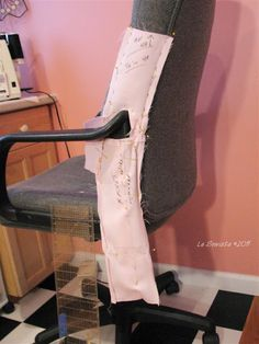 Office Chair Slip Cover - how to