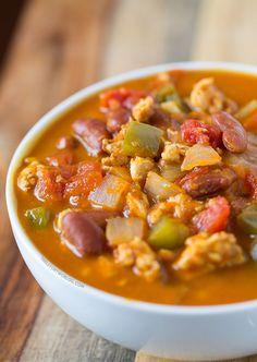 Turkey Pumpkin Chili | tablefortwoblog.com