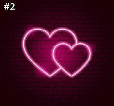 Pink Neon Wallpaper, Heart Wallpaper, Love Wallpaper, Black Aesthetic Wallpaper, Aesthetic Iphone Wallpaper, Aesthetic Wallpapers, Pink Neon Sign, Love Neon Sign, Cool Neon Signs