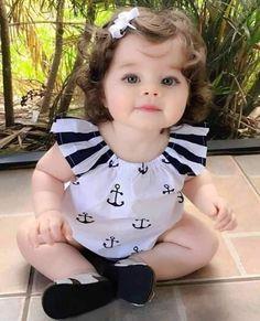 Cute Baby Boy, Cute Baby Girl Pictures, Very Cute Baby, Cute Little Baby, Little Babies, Baby Love, Cute Kids, Precious Children, Beautiful Children