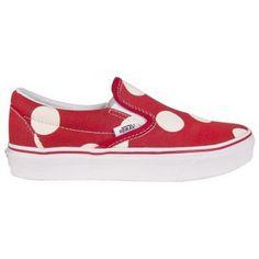 Vans Slip on - Pois Red