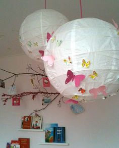 En toen was er licht Childrens Bedrooms Girls, Girls Bedroom, Diy Arts And Crafts, Diy Crafts, Ikea Lamp, Little Girl Rooms, Kidsroom, Kids Decor, Kids House