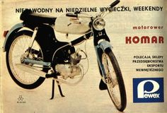 Reklama Romet Komar Poland Country, Car Polish, 50cc, Retro, Cars And Motorcycles, The Past, Humor, Vehicles, Tin Cans