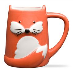 TAG Foxy Tail Ceramic Mug