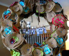 creative christmas wreaths | make handmade, crochet, craft