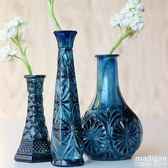 Easy DIY Painted $1 Glass Vase - Provident Home Design