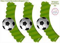 Mamá Decoradora: Futbol Soccer Birthday Parties, Boy Birthday, Happy Birthday, Baseball Party, Soccer Party, Soccer Cake, Football Tournament, Ideas Para Fiestas, Party Themes