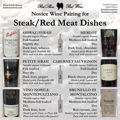 If you're having steak for Valentine's Day this weekend, here are my wine…