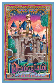 Disneyland Sleeping Beauty Castle by Jeff Granito.