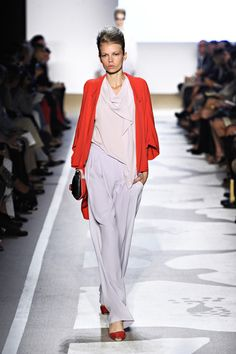 Lavender, and red, DVF perfection !