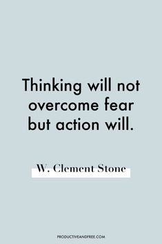 55 Quotes on Overcoming Fear — Productive and Free