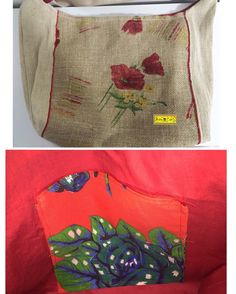 D I A • D A S • M Ã E S • 2 0 1 6   Beach  Bolsa para praia feita de ráfia com pintura à mão e detalhes vermelhos. Forro e bolso de chita.  Tamanho: 40x60cm.  arteestiloartesanato.wix.com/site