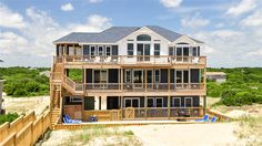 Twiddy Outer Banks Vacation Home - Dolphin Patch - 4x4 - Oceanfront - 6 Bedrooms
