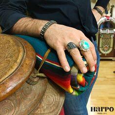 Harpo Bijoux © #bijouxturquoise #turquoise #navajo #zuni