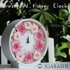 Rakuten [Preserved flower arrangement flower birthday gift] Flower Clock…