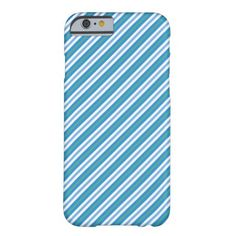 A slim and feather-light case to protect your iPhone 6 smartphone, with a chic Blue, Green and White Deckchair Striped pattern that coordinates with the Posh & Painterly 'Morning Glory' collection by Judy Adamson. Up to $47.95 - http://www.zazzle.com/blue_morning_glory_deckchair_stripe_iphone_6_case-256871842944518521?rf=238041988035411422&tc=pintw