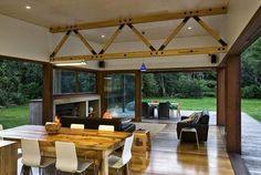 Casa de Madera en Nueva Zelanda