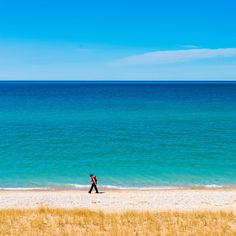 The 10 Best Beaches on he Great Lakes | Including one that rocks white sand dunes 450ft tall.