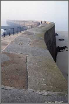 Sea Wall, Saint-Malo, Brittany, France