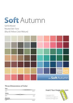 Women's Soft Autumn