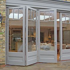 Garden doors by city & country Bespoke roof lanterns Standard size .Garden doors by city & country Bespoke roof lanterns Standard size roof lanterns - furnishing and livingBrilliant French doors with side windows to open House Design, Roof Lantern, House, French Doors, Home, House Exterior, New Homes, Exterior Doors, Garden Doors