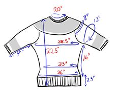 Apileofsheep | Resizing a vintage pattern - Part 2 | Welcome back! This is the follow up to last week's post about taking a vintage sweater and updating it for modern times. I sorted out the original schematic, I picked out some replacement yar…