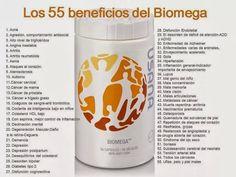 Beneficios de consumir Biomega
