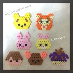 Winnie the Pooh perler beads by ganmo2004