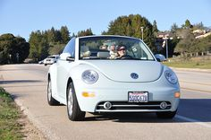 Aqua VW Bug - too bad VW's are hunks of junk and expensive to repair. Such a cute car.
