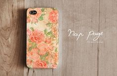 iphone 4 case , iphone 4s case , case for Iphone 4 Blackberry mobile Case handmade: Vintage Rose. $19.90, via Etsy.