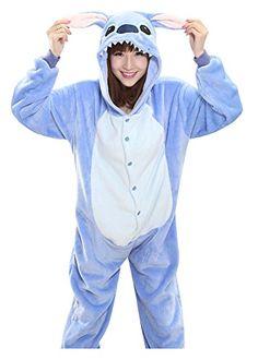 Blue/Pink Lilo Stitch Pajamas Onesie Adult Unisex Stitch Cosplay Costume Pyjama All In One Party Pijama Couple Pajamas, Adult Pajamas, Animal Pajamas, Onesie Pajamas, Pajamas Women, Pyjamas, Hallowen Costume, Couple Halloween Costumes, Stitch Pajamas