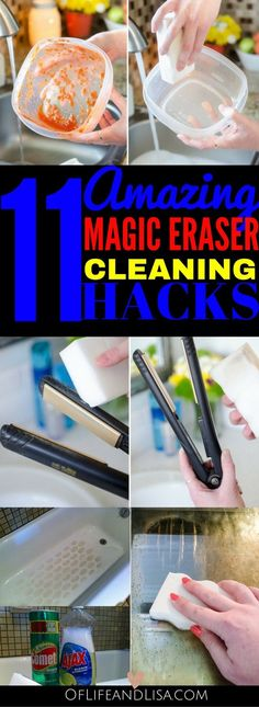 11 Amazing Ways to Use a Magic Eraser to Clean Your Home