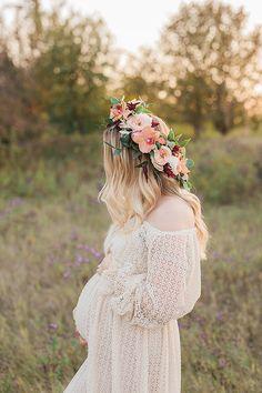 Flower crown materni