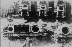 Production line. There was a big scandal in France in 1916. Somebody destroyed all documents about starting the production...