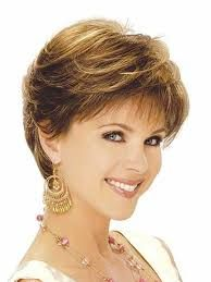 Resultado de imagen para ELEGANT short haircut for square faces and thin hair