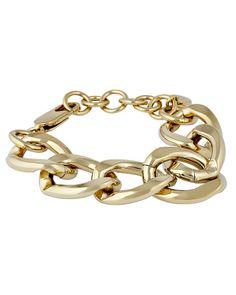 Armband Chain Reaction vergoldet