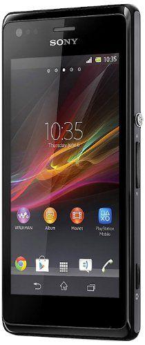 nice Sony Xperia M Dual-Sim - Smartphone (pantalla táctil de 10,2 cm (4''), Qualcomm, 1 GHz Dual-Core, cámara de 5 megapíxeles, 1 GB RAM, Android 4.1), color negro
